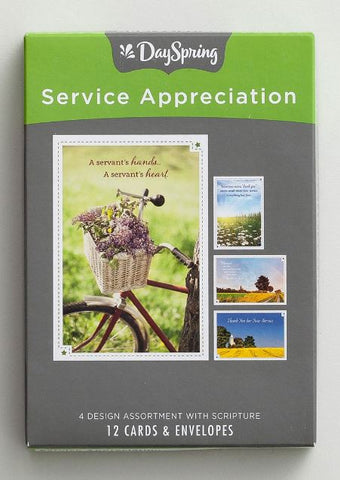 Boxed Cards - Service Appreciation