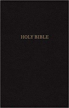 KJV Super Giant Print Deluxe Reference Bible - Black