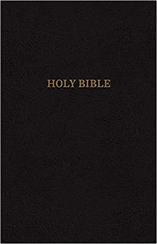 KJV Comfort Super Giant Print Reference Bible - Black LeatherTouch