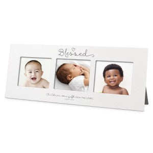 Photo Frame - Multi-Photo Blessed Baby