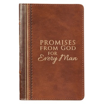Promises From God For Every Man LuxLeather