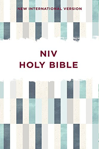 NIV Outreach Bible - Blue Geometric
