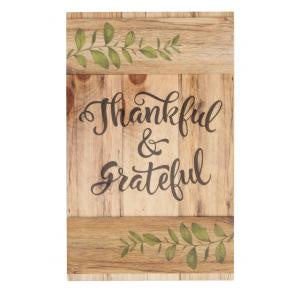 Barn Door Art - Thankful & Grateful