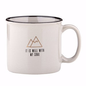 Campfire Mug - It Is Well With My Soul