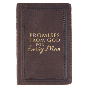 Promises From God For Every Man Leather
