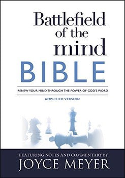 Battlefield of the Mind Amplified Bible (Hardcover)
