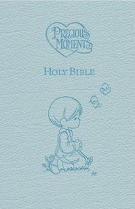 Precious Moments Holy Bible - Blue