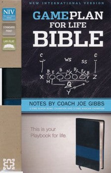 NIV The Game Plan for Life Bible - Black