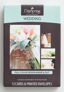 Boxed Cards - Wedding Congratulations
