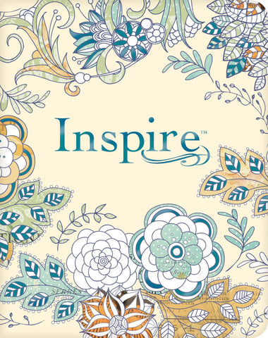 NLT Inspire Softcover Journaling Bible