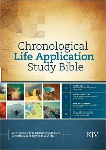 Chronological Life Application Study Bible- KJV