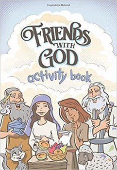 Friends With God Activity Book