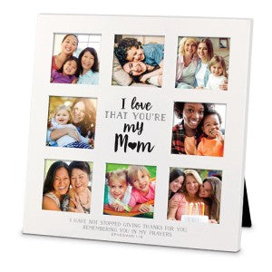 Collage Photo Frame - Mom Large (8 photos)