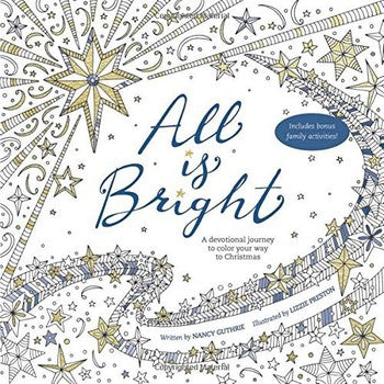 Devotional Colouring Book - All is Bright