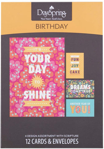 Boxed Cards - Birthday Joy