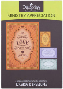 Boxed Cards - Ministry Appreciation