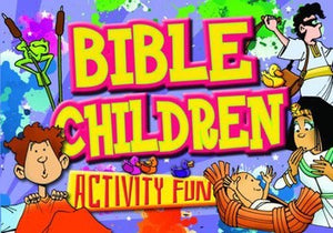 Bible Children - Activity Fun Book