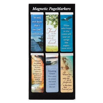 Magnetic Pagemarker Set - Classics
