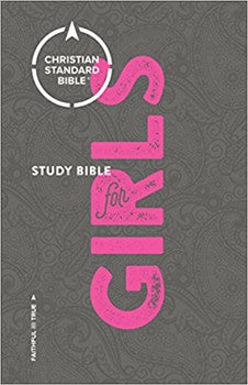 CSB Study Bible for Girls - Hardcover