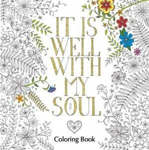 Colouring Book - It Is Well With My Soul