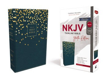 NKJV Comfort Print Thinline Bible - Youth Edition