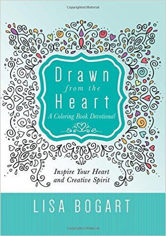 Colouring Book - Drawn from the Heart