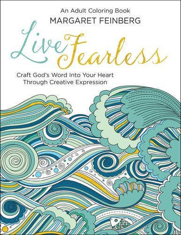 Colouring Book - Live Fearless