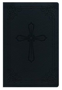 NIV Compact Bible - Leathersoft Black