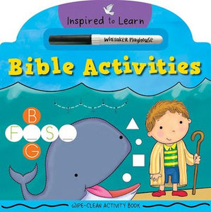 Bible Activities - Wipe-Clean Activity Book