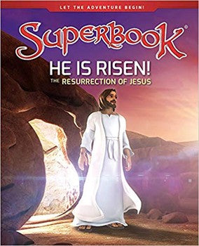 Superbook: He is Risen! (Hardcover)