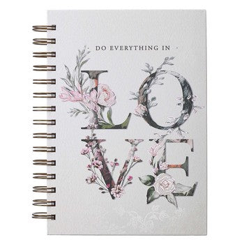 Journal - Do Everything in Love Wirebound