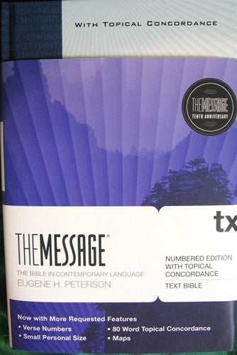 The Message, With Topical Concordance
