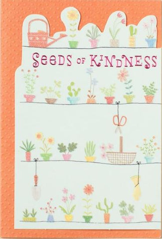 Card - Thank You Seeds of Kindness