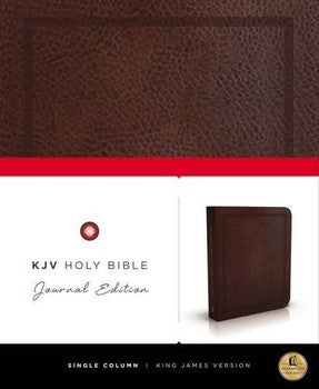 KJV Journaling Bible (Leather)