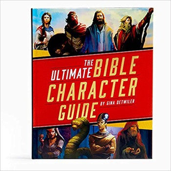 The Ultimate Bible Character Guide (Hardcover)