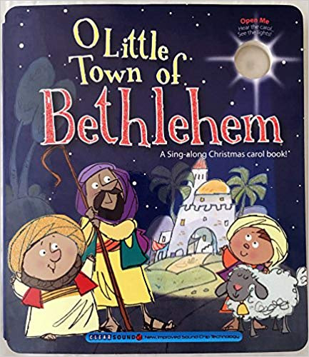 Music Board Book - O Little Town of Bethlehem