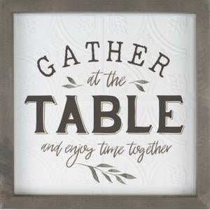 Framed Wall Art - Gather at the Table
