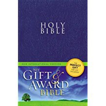 NIV Gift & Award Bible - Navy