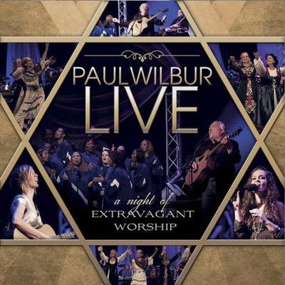 Paul Wilbur Live: A Night of Extravagant Worship CD