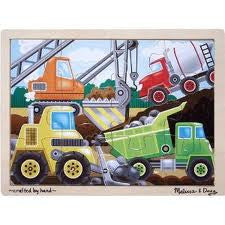 Construction Site Jigsaw(12pc)
