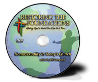 Homosexuality In Today's Church DVD