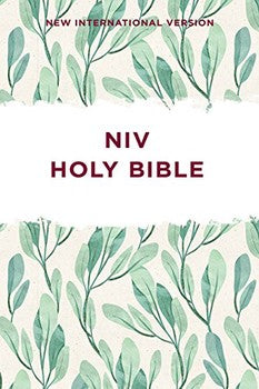 NIV Outreach Bible - Green Leaves