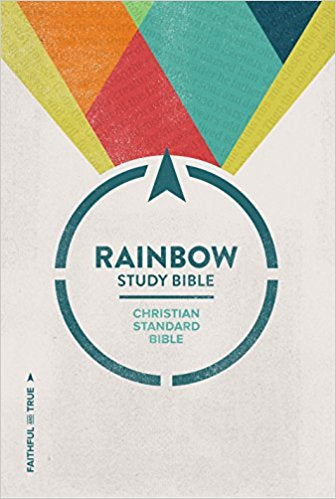 CSB Rainbow Study Bible - Hardcover