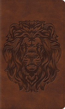 ESV Thinline Bible - Lion