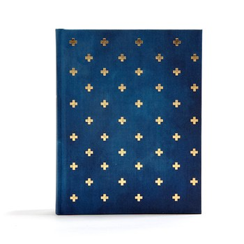 CSB Notetaking Bible - Navy Cross Hardcover