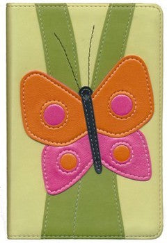 NIV Compact Kids Bible - LeatherSoft Butterfly
