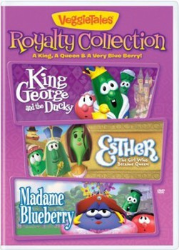 VeggieTales Royalty Collection DVD Combo