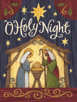 Boxed Deluxe Christmas Cards - O Holy Night
