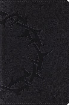 ESV Compact Bible - Charcoal Crown