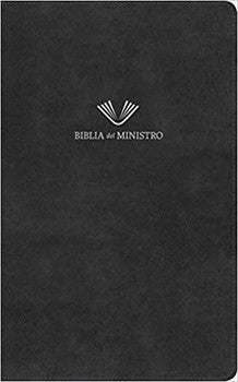 RVR 1960 Biblia Del Ministro - Black Bonded Leather